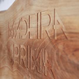 """Placa para o programma """"Madeira Prima"""" da RTP2"""